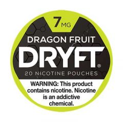 Dryft 7mg Dragon Fruit Nicotine Pouches