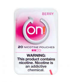 on! 2mg Berry Nicotine Pouches