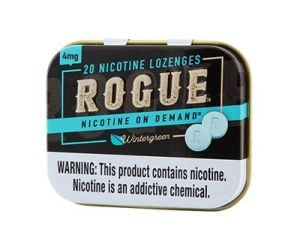 Rogue Wintergreen 4mg, Nicotine Lozenges