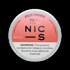 NIC-S Spiced Cinnamon 6MG Nicotine Pouches