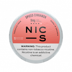 NIC-S Spiced Cinnamon 9MG Nicotine Pouches
