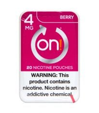 on! 4mg Berry, Nicotine Pouches