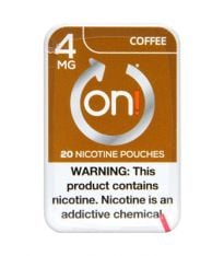 on! 4mg Coffee, Nicotine Pouches