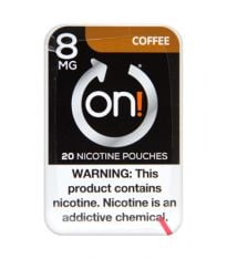 on! 8mg Coffee Nicotine Pouches