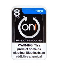 on! 8mg Mint Nicotine Pouches