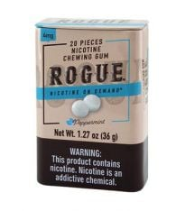 Rogue Peppermint 4mg, Nicotine gum