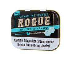 Rogue Wintergreen 2mg, Nicotine Lozenges