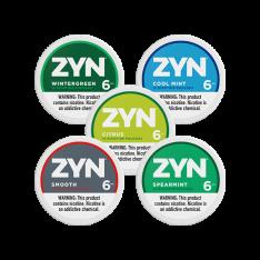 ZYN 6mg Mixpack