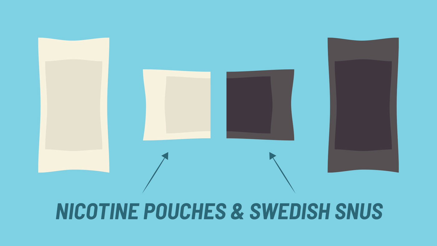 difference nicotine pouches vs swedish snus